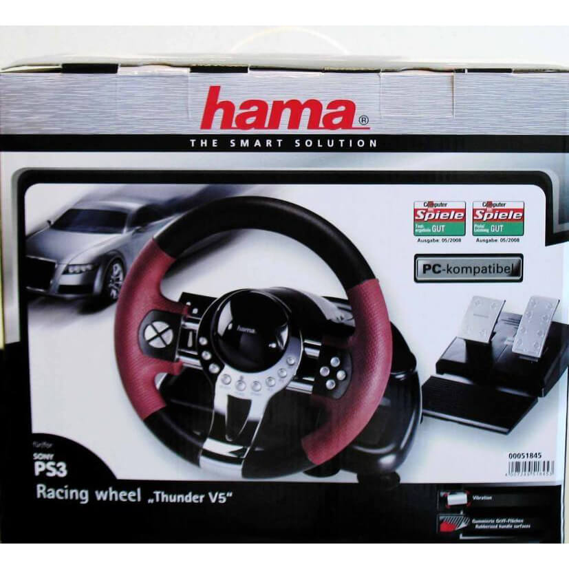 HAMA PS3 RACING WHEEL THUDNER V5 WINDOWS 10 DRIVER