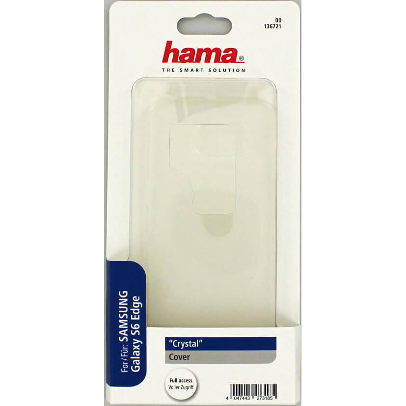 HAMA Cover Transparent Crystal Samsung S6 Edge - Tura